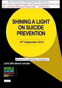 World Suicide Prevention Day hosted by the Kilkenny Gospel Choir